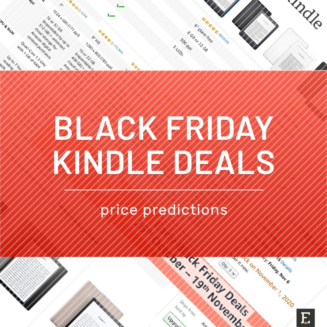 Black Friday 2020 Kindle Price Predictions
