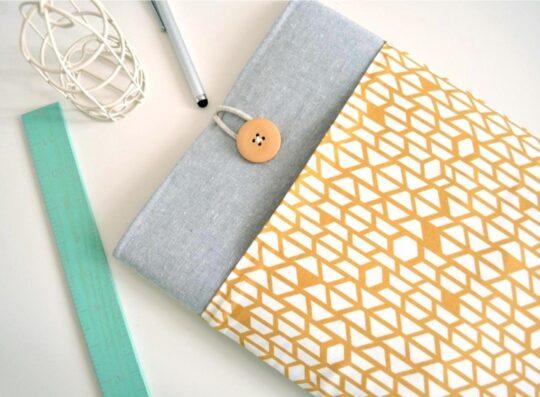 Cute Amazon Kindle cotton sleeve