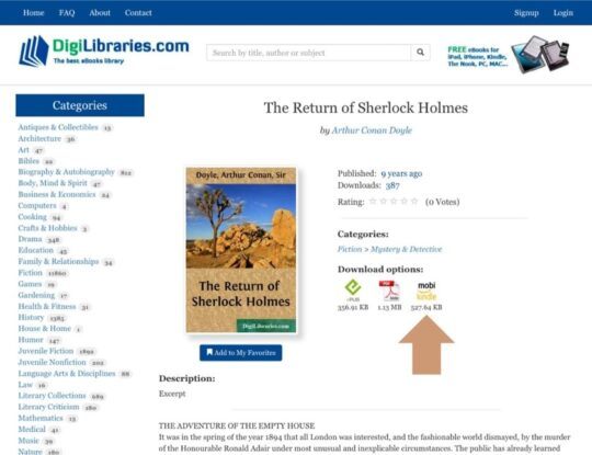 DigiLibraries sources free ebooks Amazon Fire