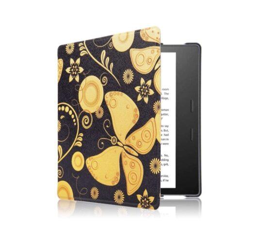 Golden butterflies Kindle Oasis ultraslim case