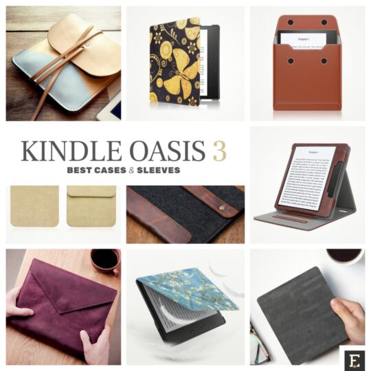 Kindle Oasis - top rated cases