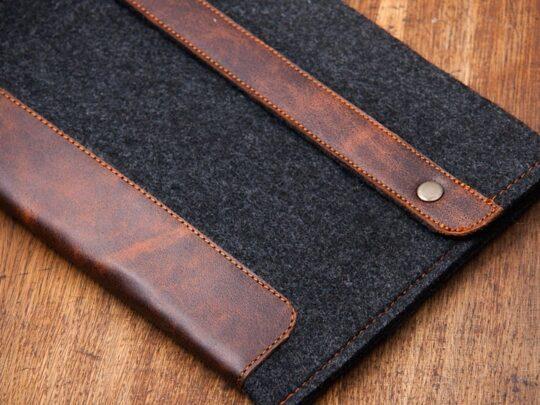 Premium leather felt Kindle Oasis sleeve