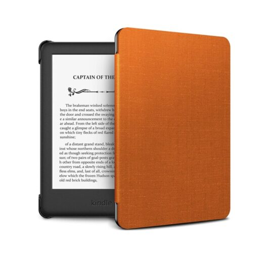 Thin multi-layer protective smart Kindle cover