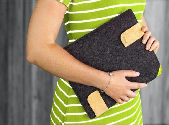 iPad Air fashionable felt sleeve cover
