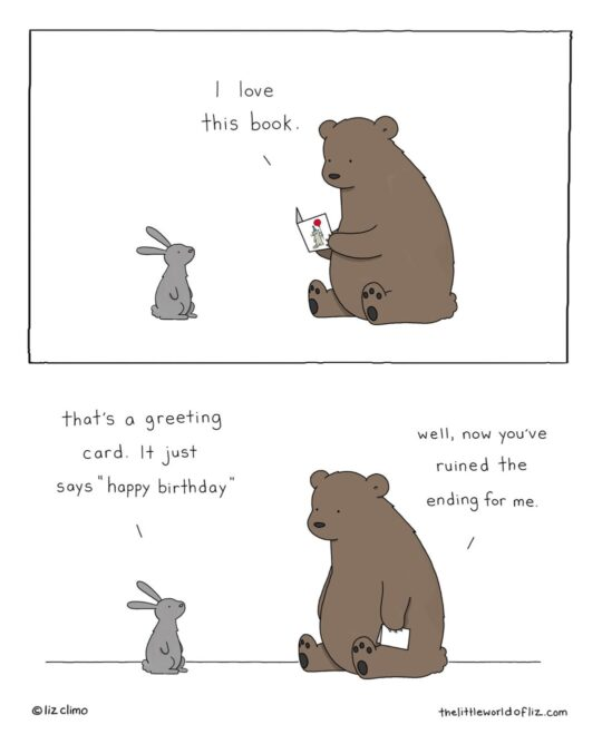 I Love This Book by Liz Climo - best webcomics about books