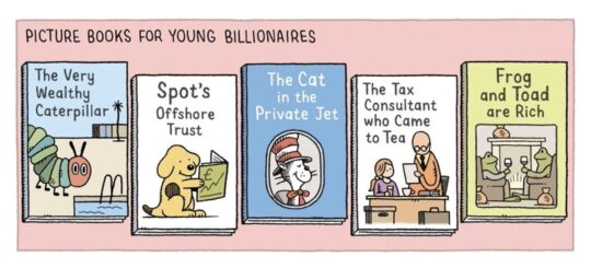 Picture Books for Young Billionnaires - Tom Gauld best cartoons about books