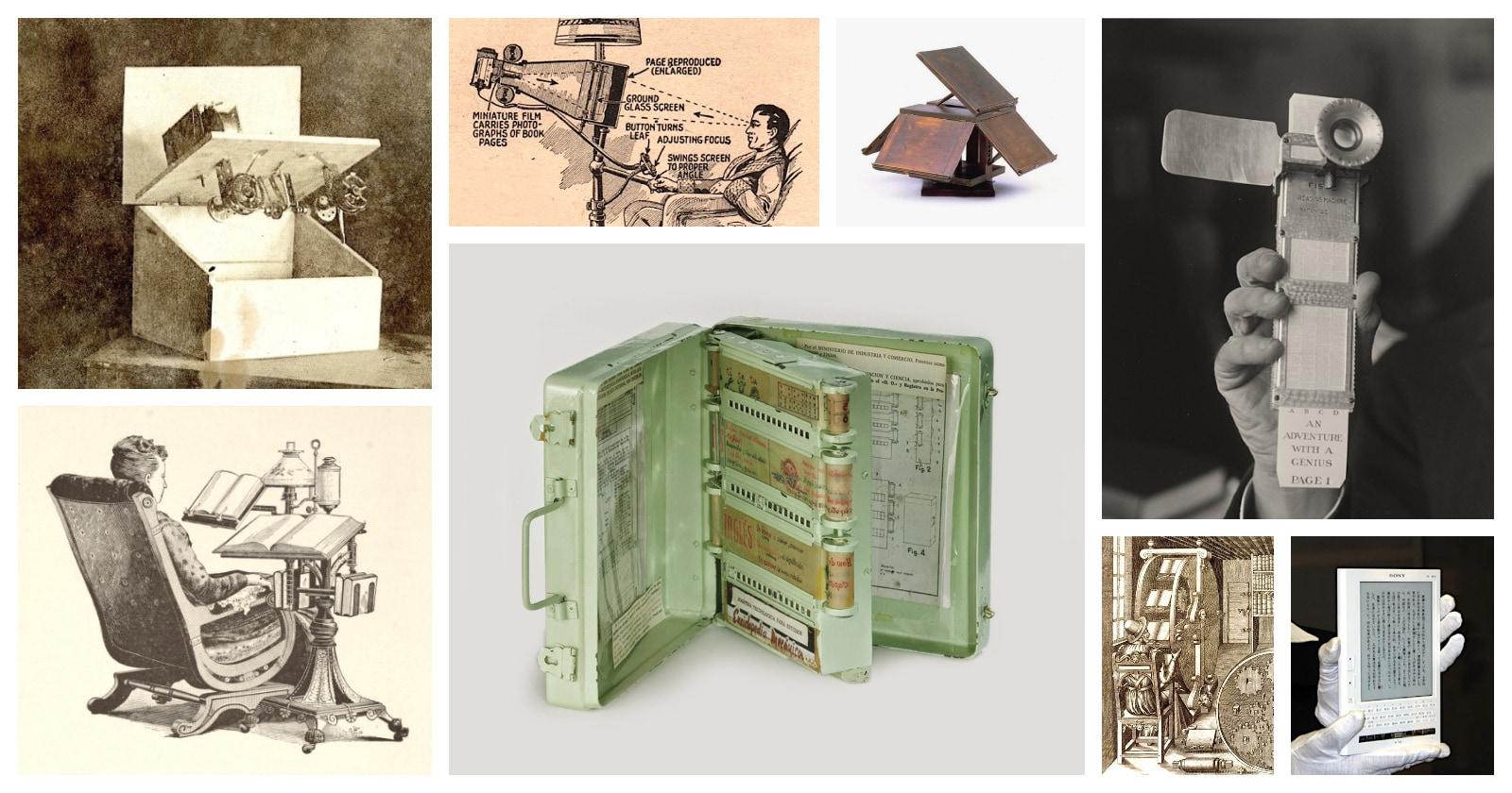 Best vintage book machines before Kindle