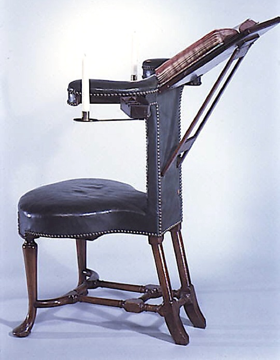 British reading chair 1750 - book machines before Kindle