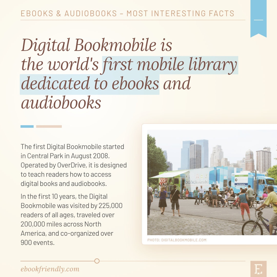 Digital Bookmobile first mobile library for ebooks 2008