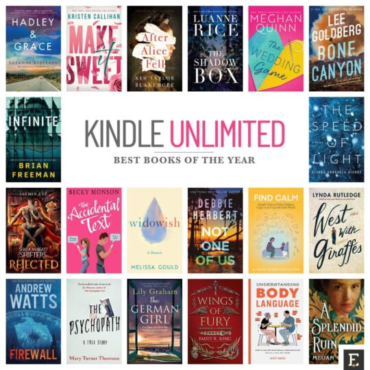Kindle Unlimited: the best new books to read in 2021