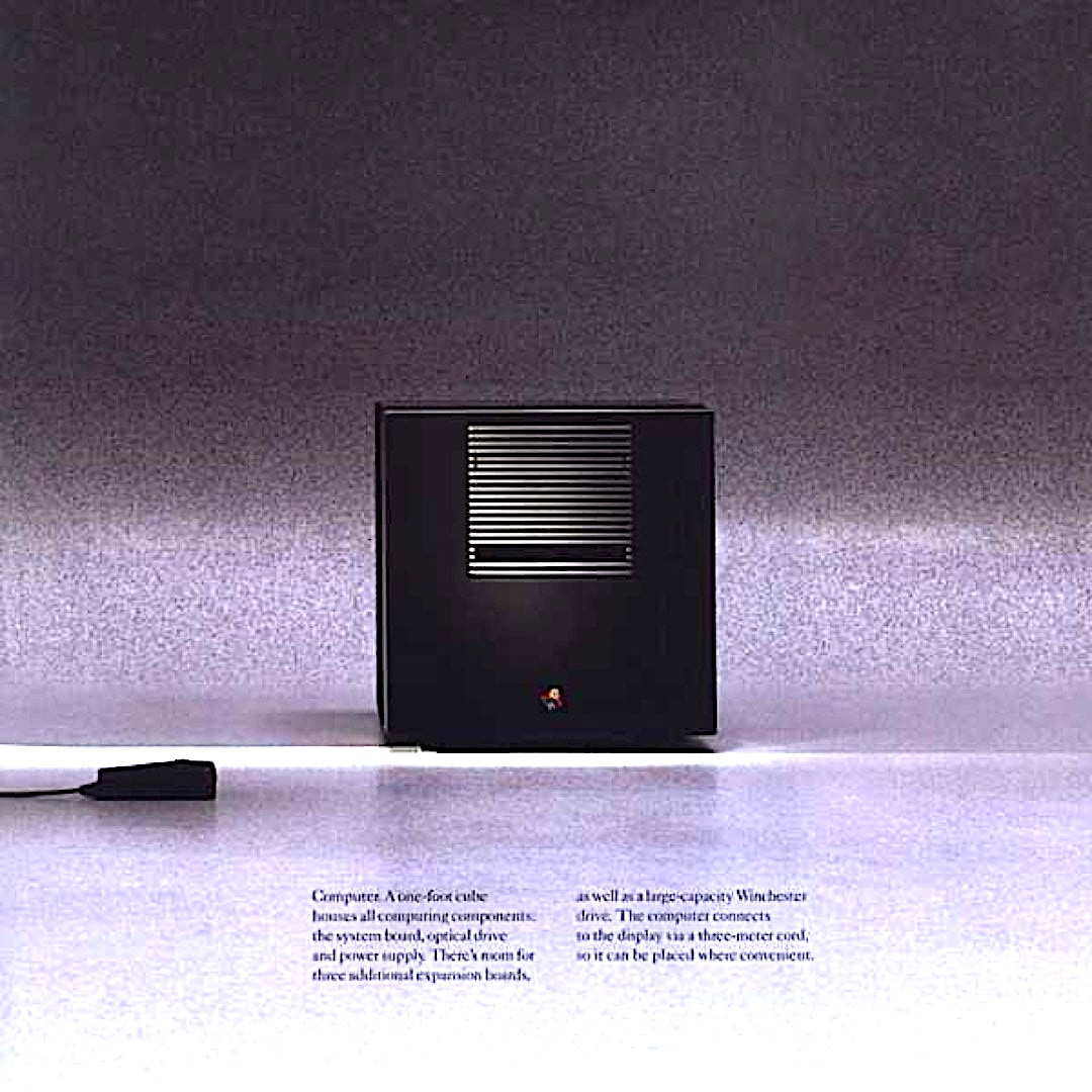 NeXT Computer 1988 - book reading machines before Kindle