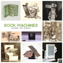 12 fascinating book machines before the Kindle