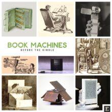 Vintage book machines