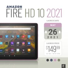 Amazon Fire HD 10 (2021 release) – full specs and  major improvements