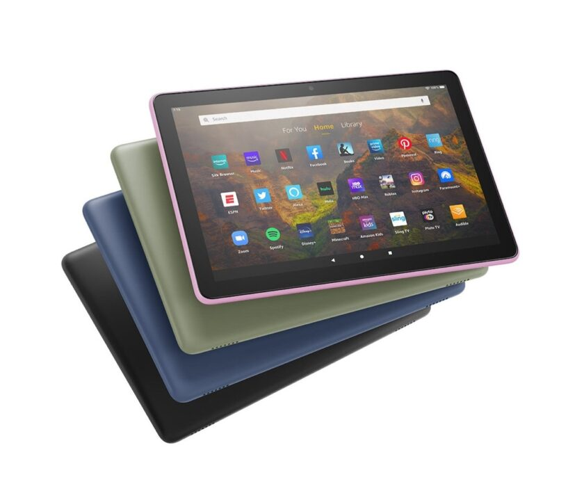 Amazon Kindle Fire HD 10 in four new colors