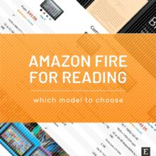Best Amazon Fire tablet for reading tips comparison