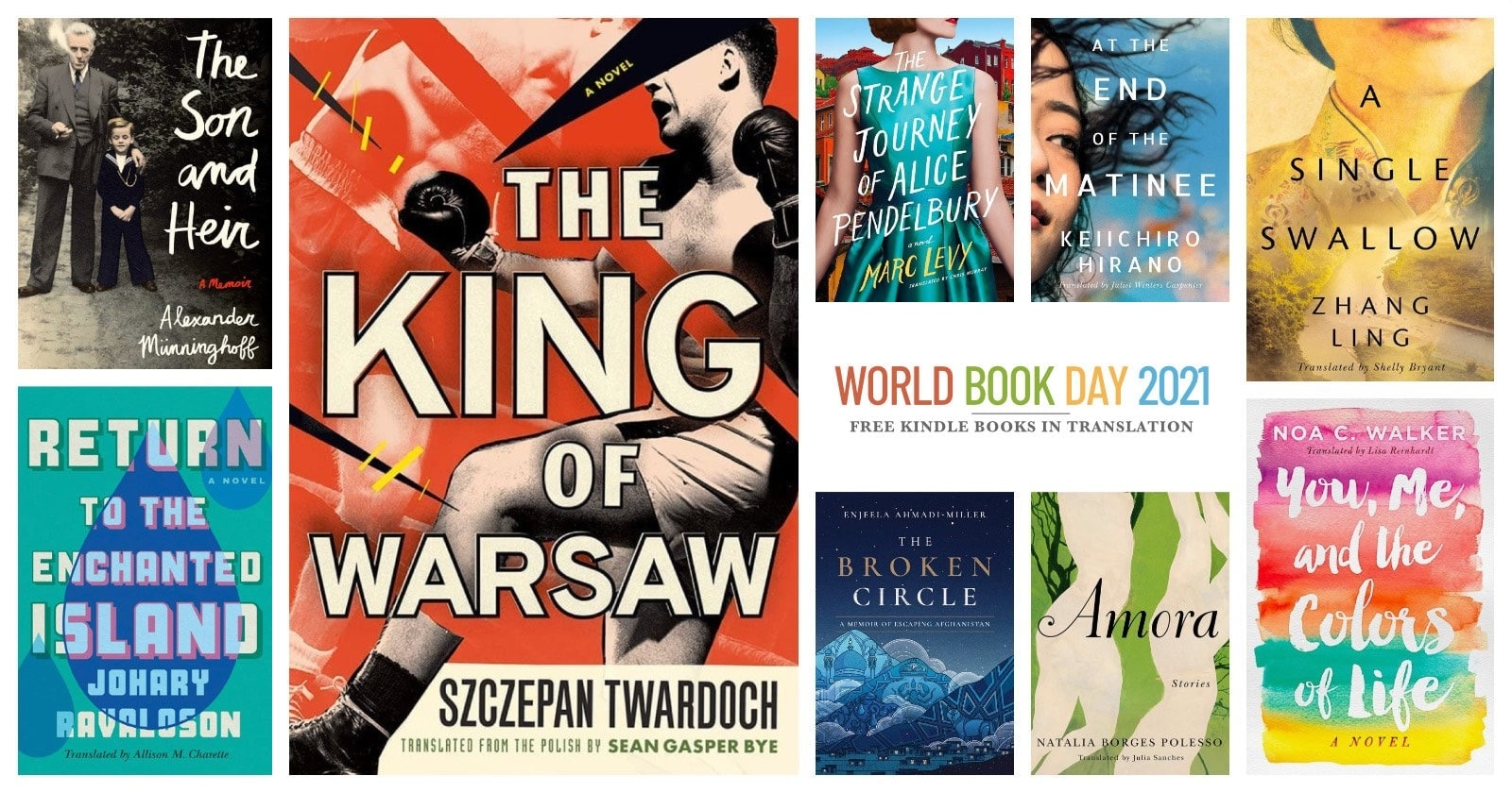 Free Kindle books to download - WBD 2021