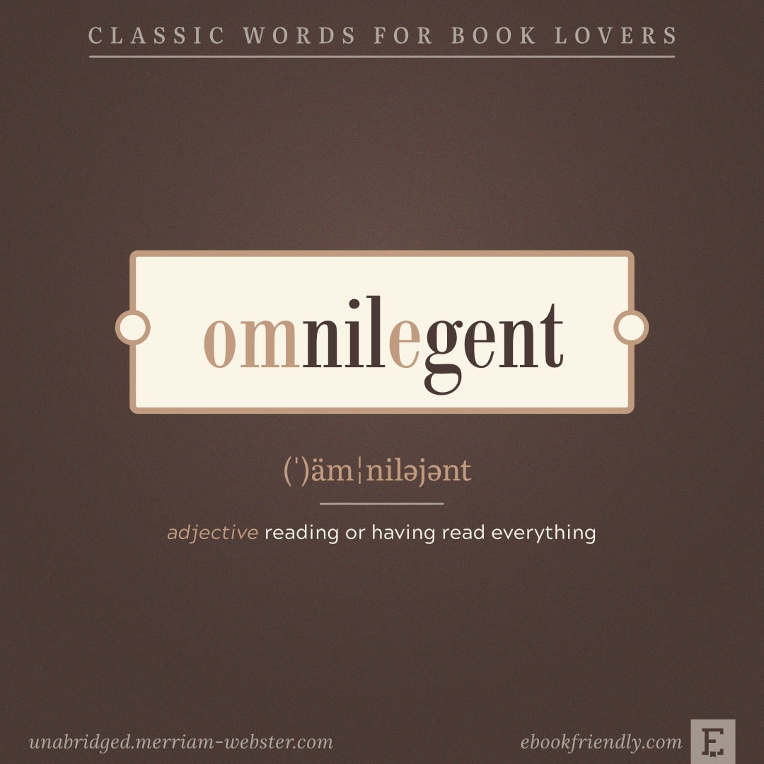 Omnilegent - amazing words for avid readers