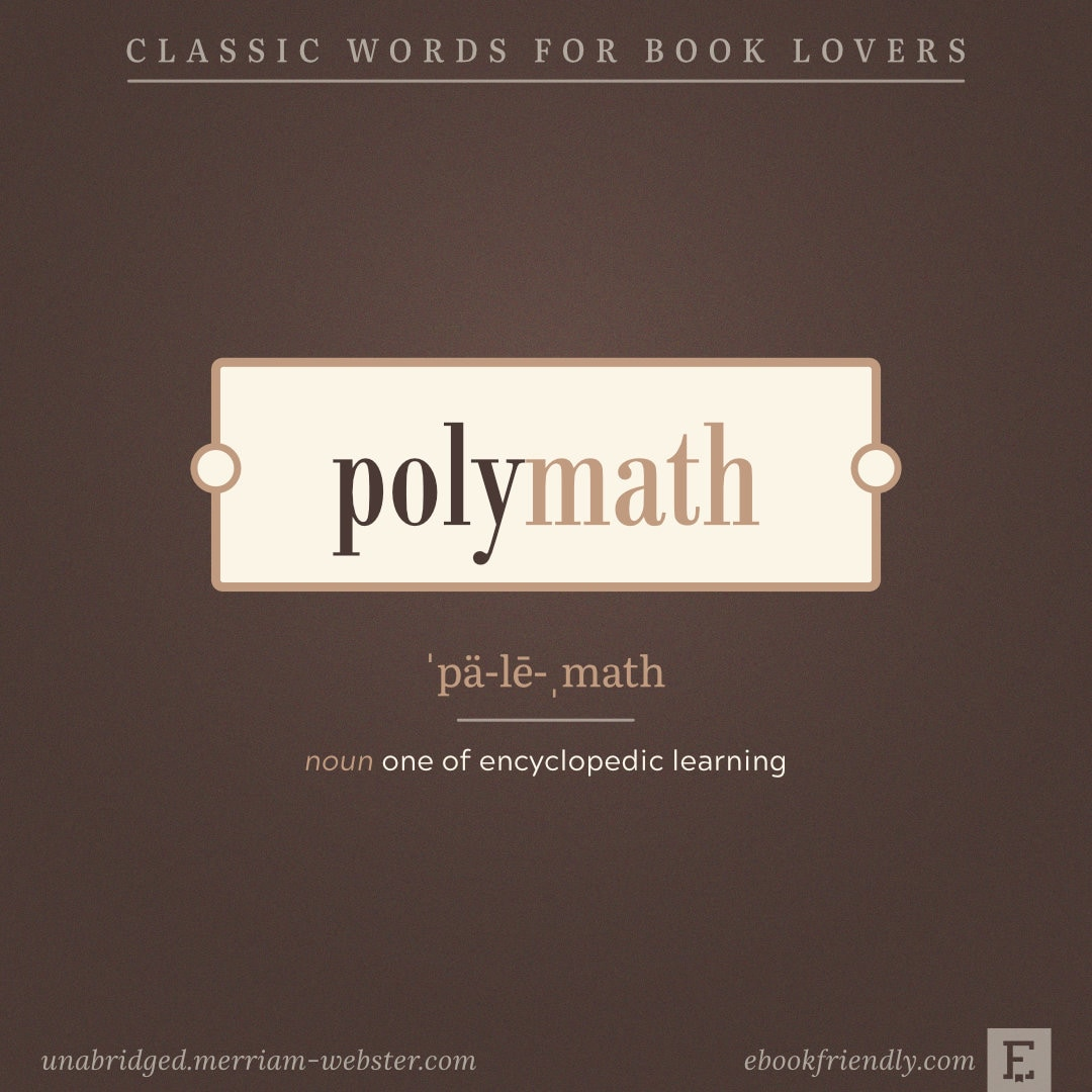 Polymath - words for booklovers
