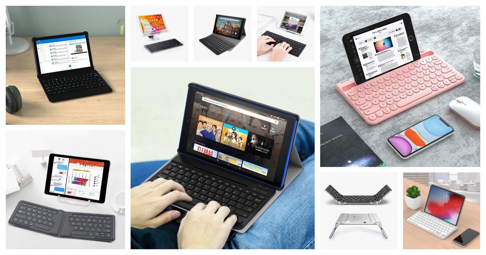 Best Amazon Fire compatible keyboards keyboard cases