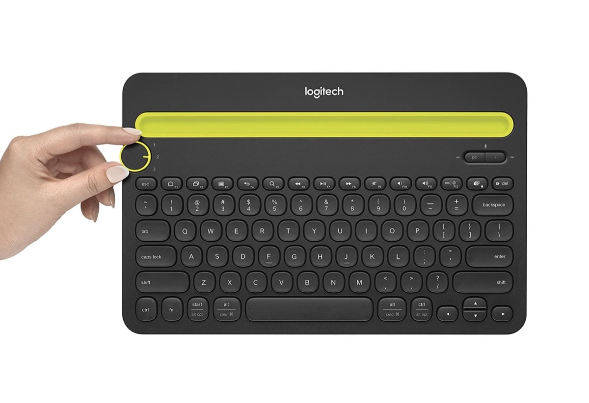 Logitech multi-device keyboard Amazon Fire compatible