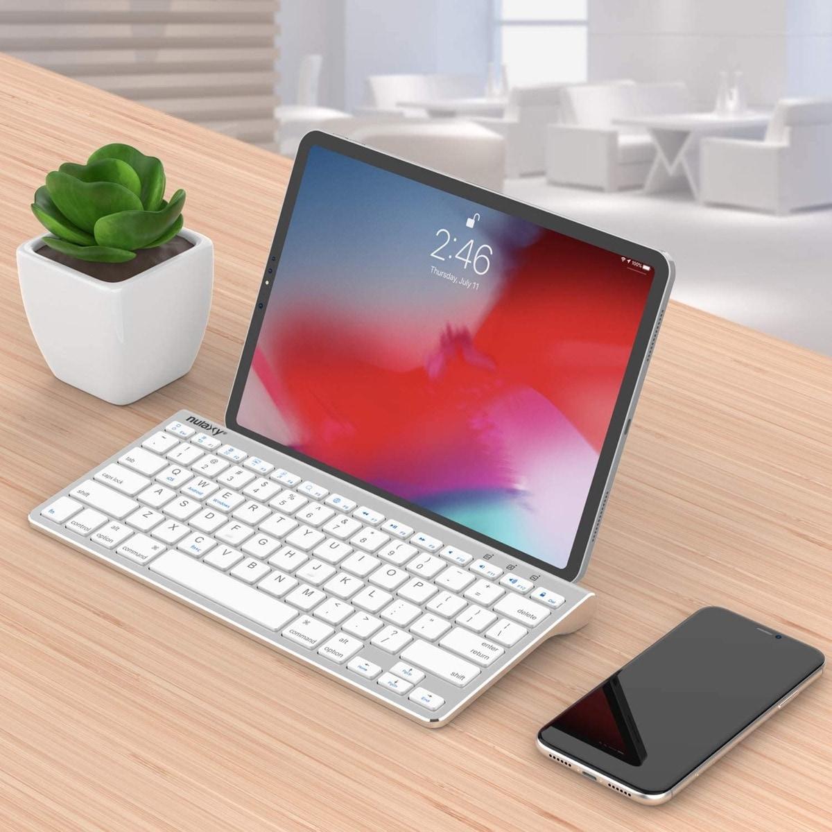 Nulaxy - best desktop keyboard for Amazon Fire tablets