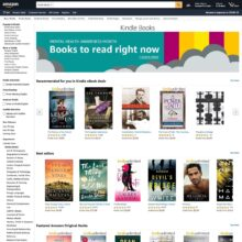 There are now over 10 million publications in the Kindle Store