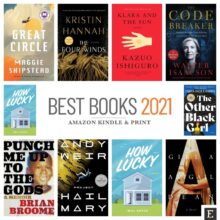 Top 20 Amazon Kindle and print books of 2021 so far