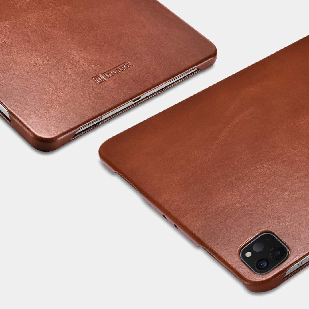 Genuine leather iPad Pro 11 tri-fold case