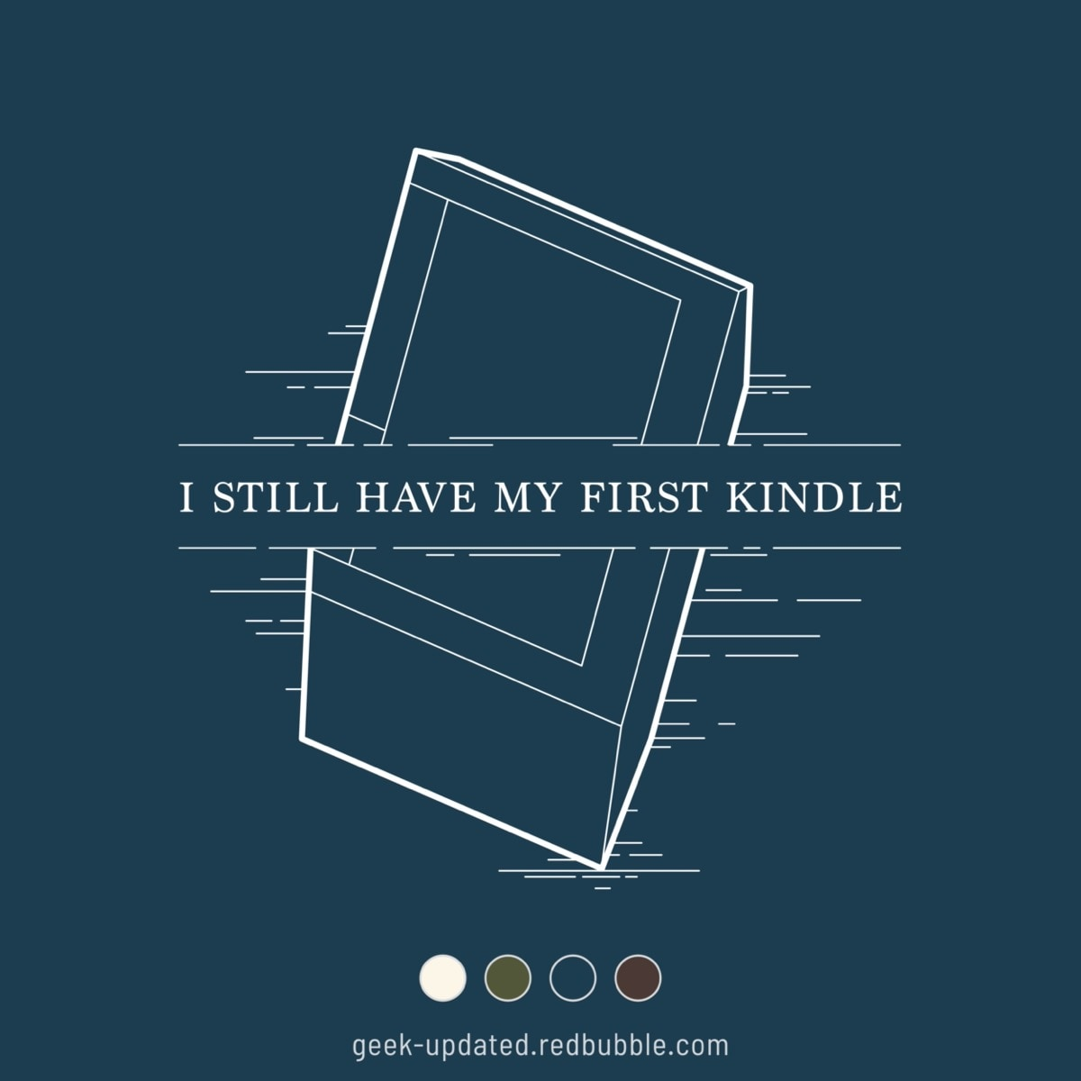 I still have my first Kindle - design by Piotr Kowalczyk