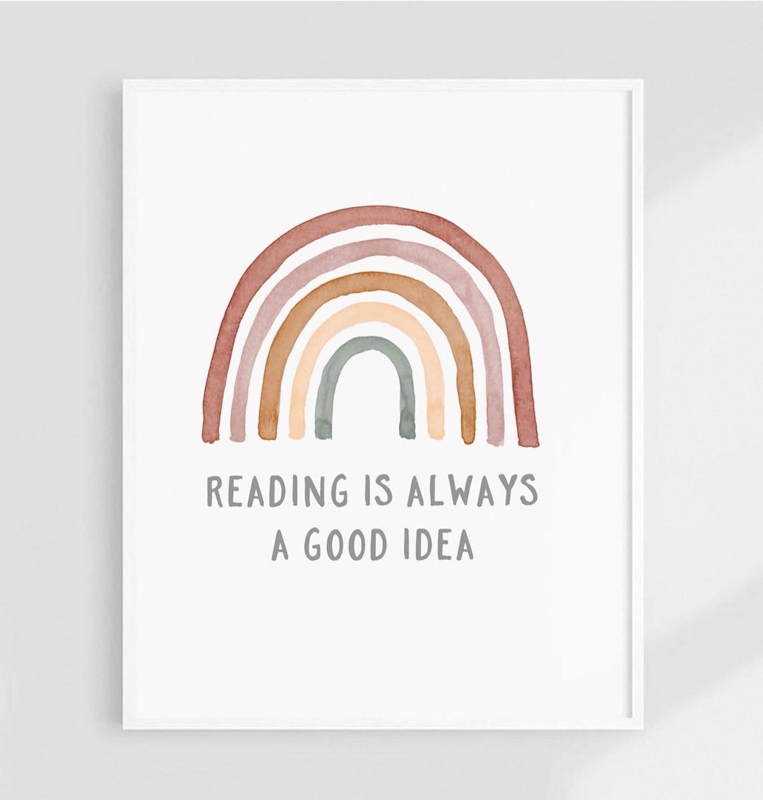Reading is always a good idea