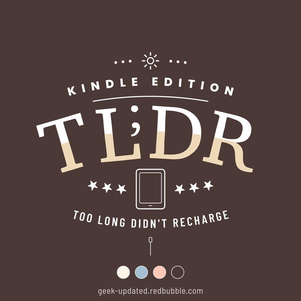 TL;DR Kindle edition - design by Piotr Kowalczyk