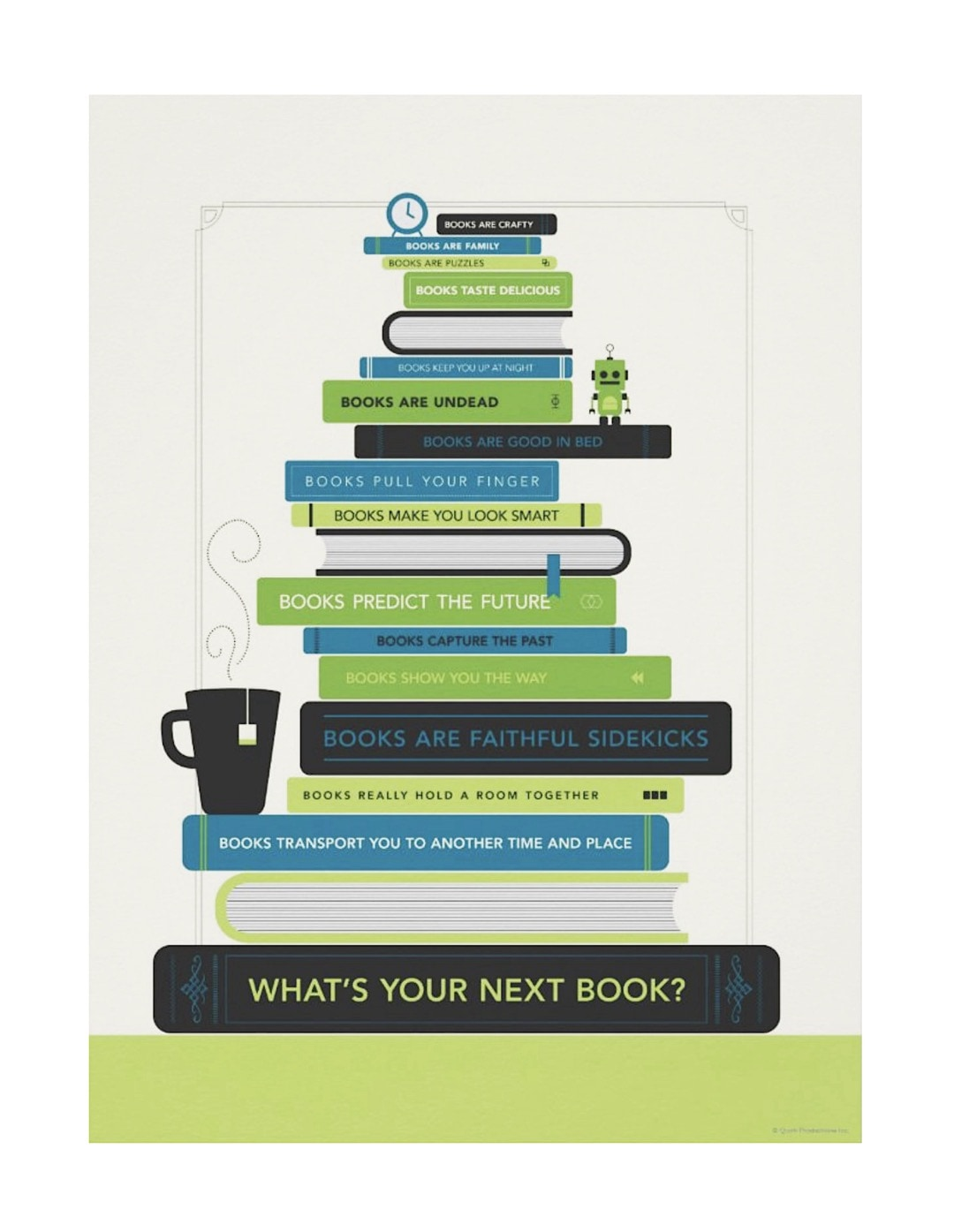 What is your next book - best posters that encourage to read