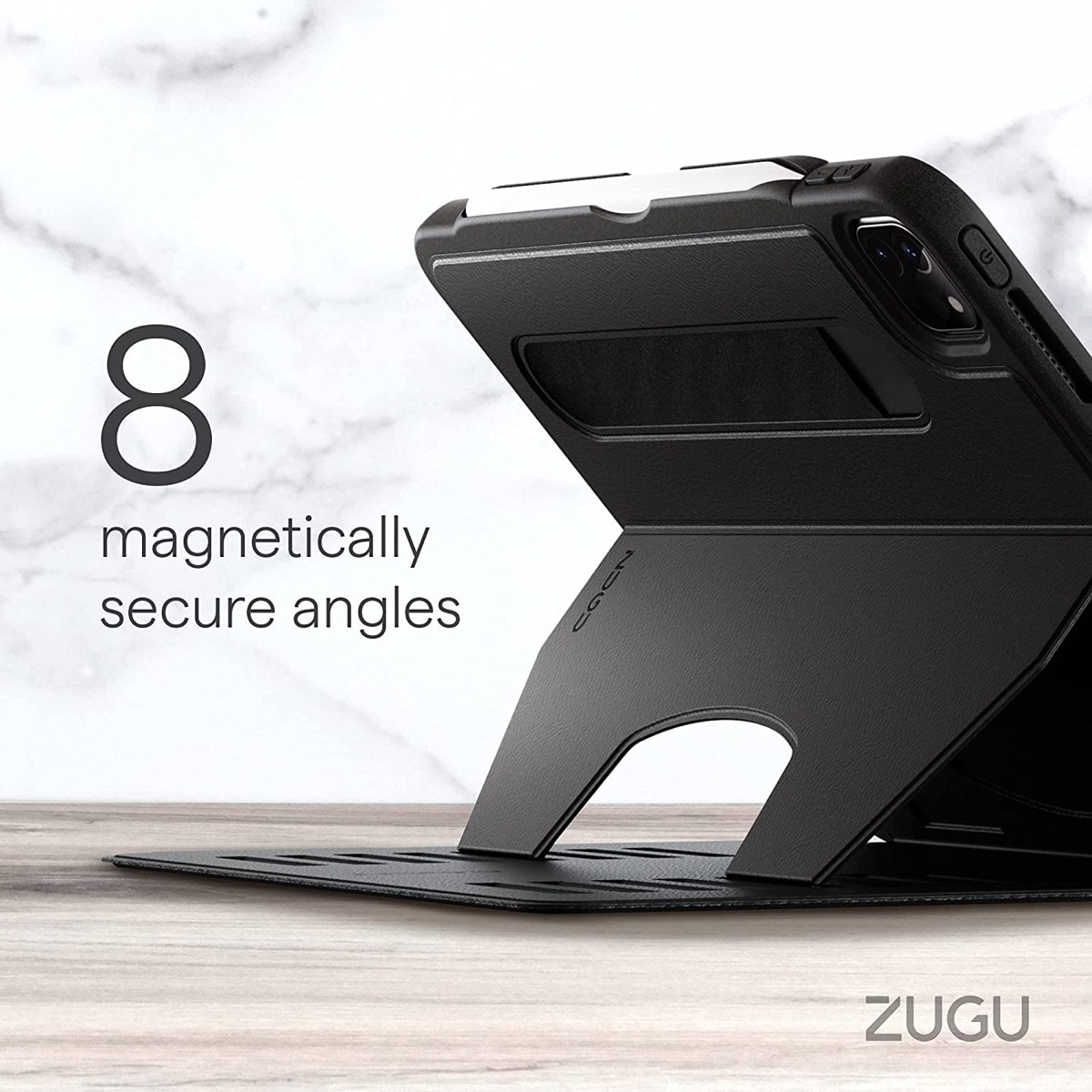 Zugu iPad Pro 11 2021 case with multiangle stand