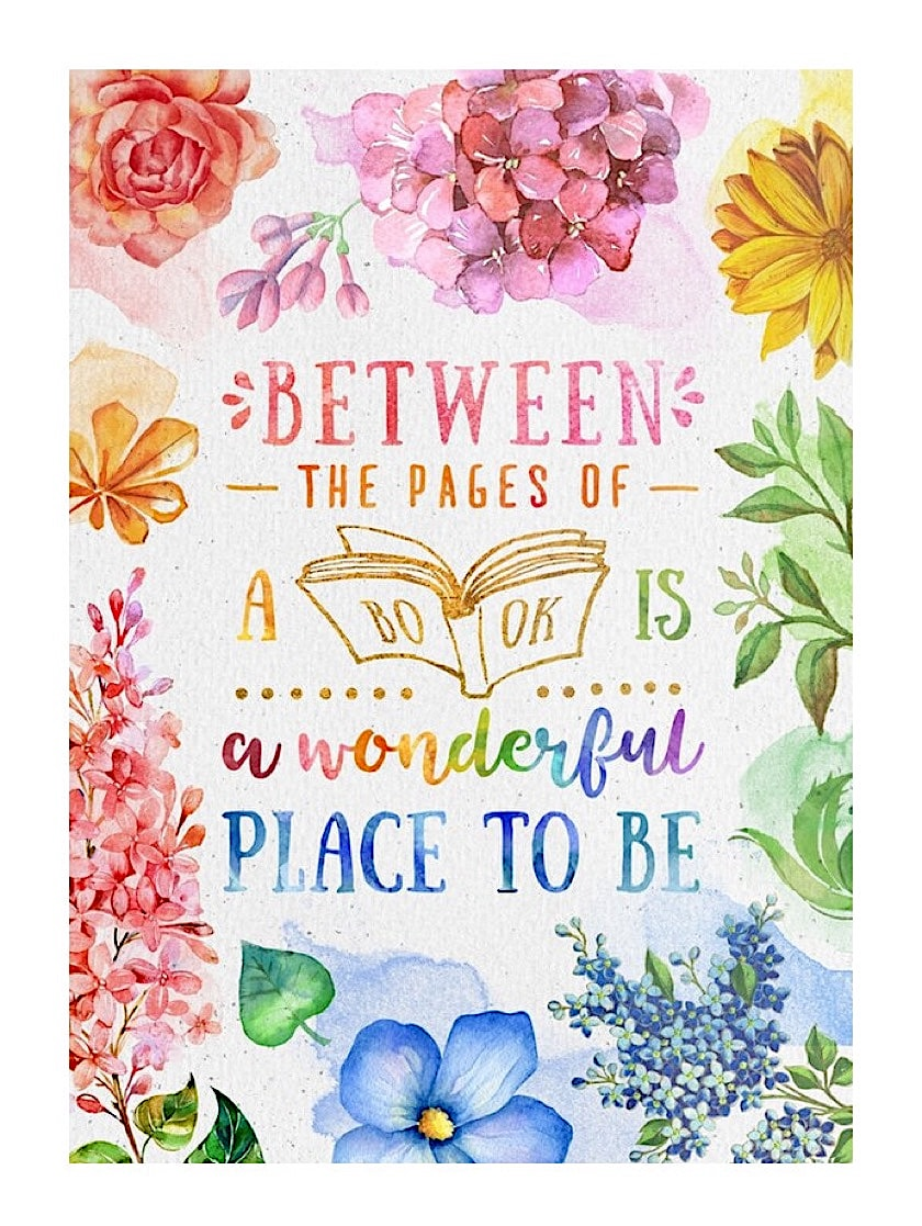 Between the pages of a book - best read posters