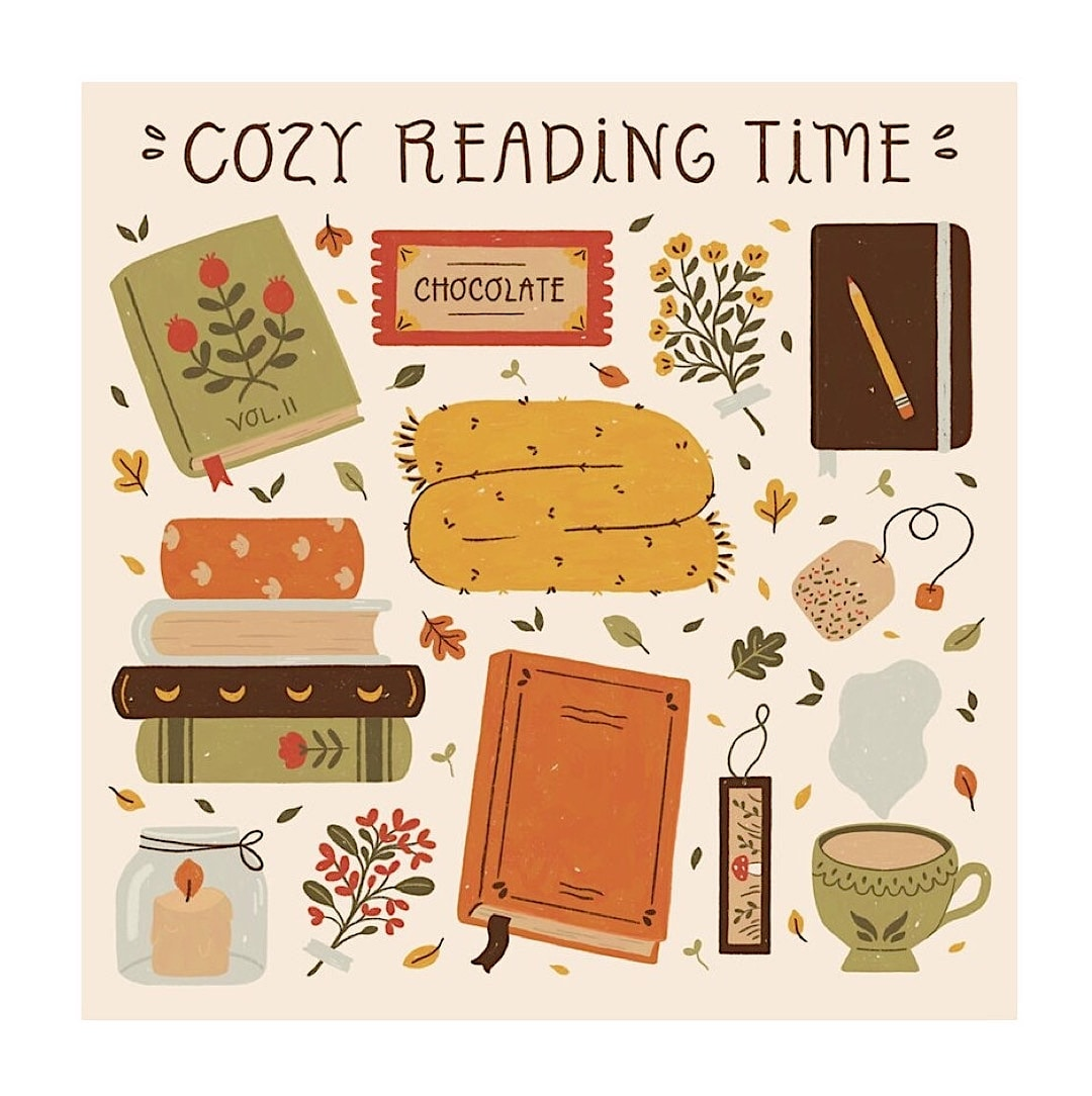 Cozy reading time - best read posters