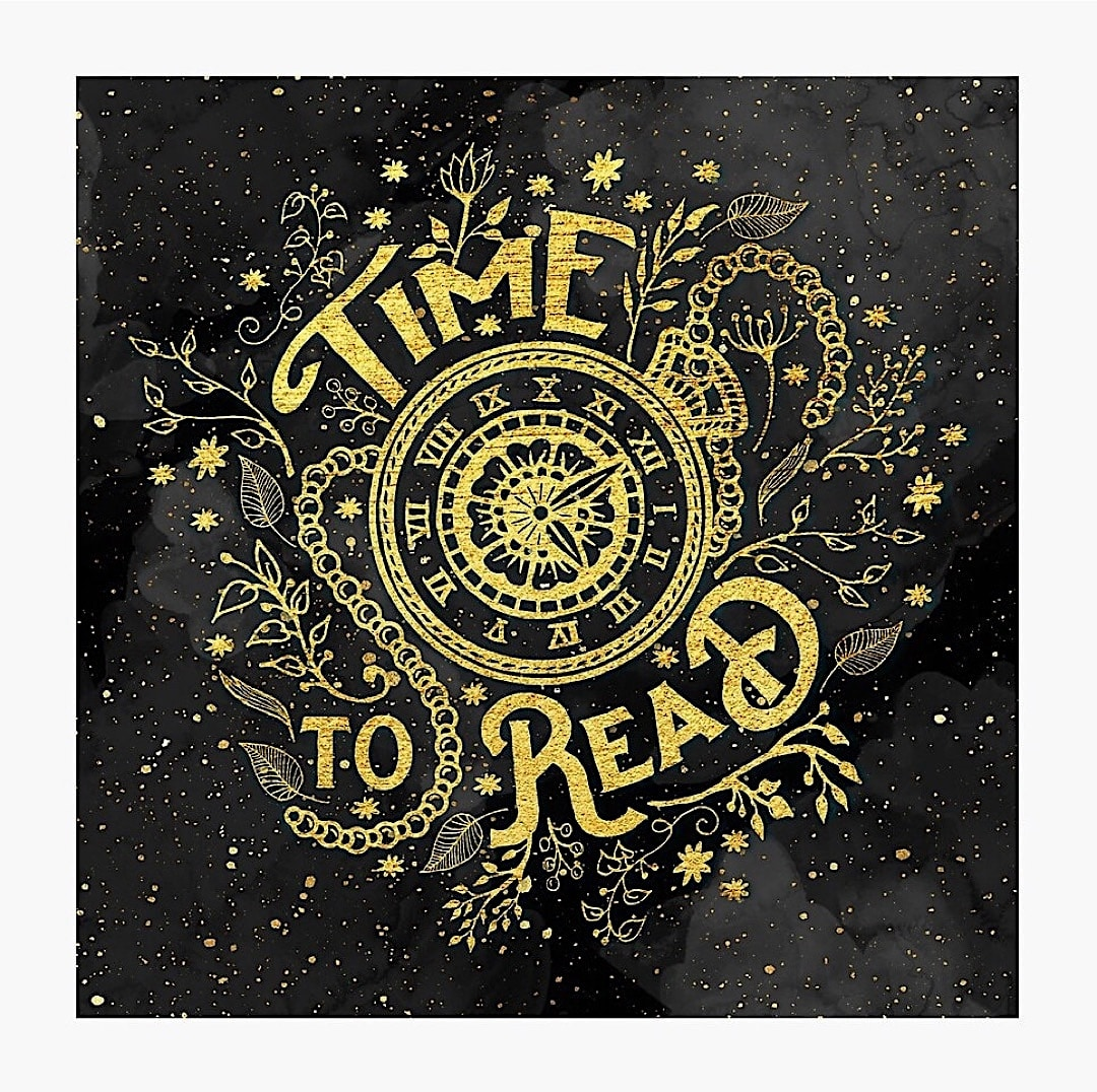 Magical time to read poster