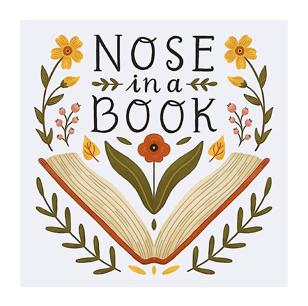 Nose in a book - best read posters
