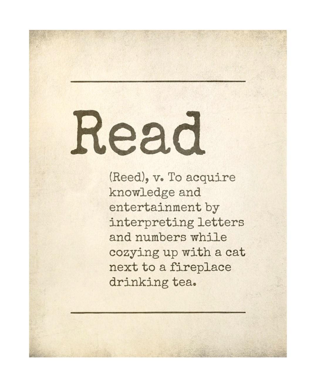 Read - description - best read posters