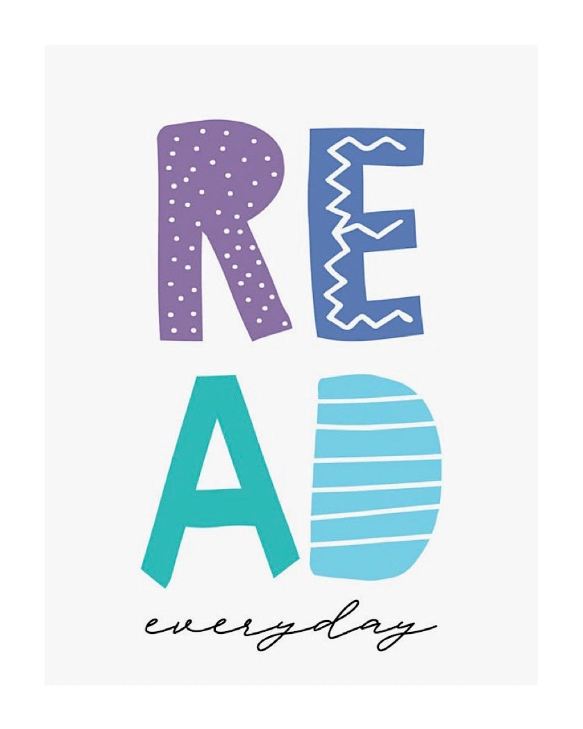 Read everyday - best read posters