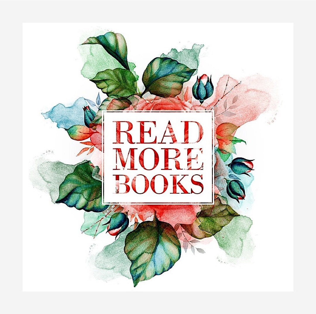 Read more books floral artwork - best read posters