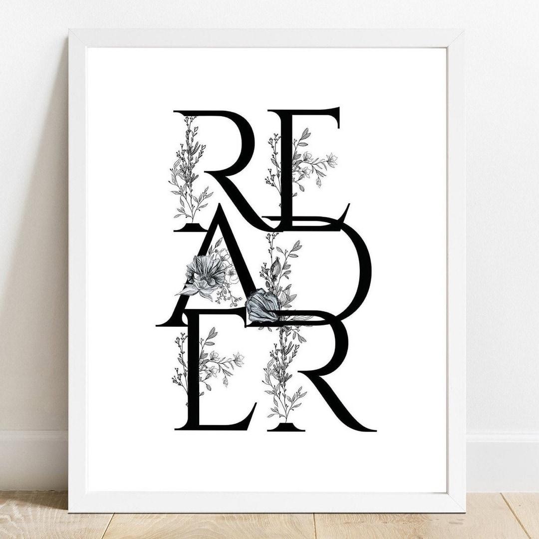 Reader read poster
