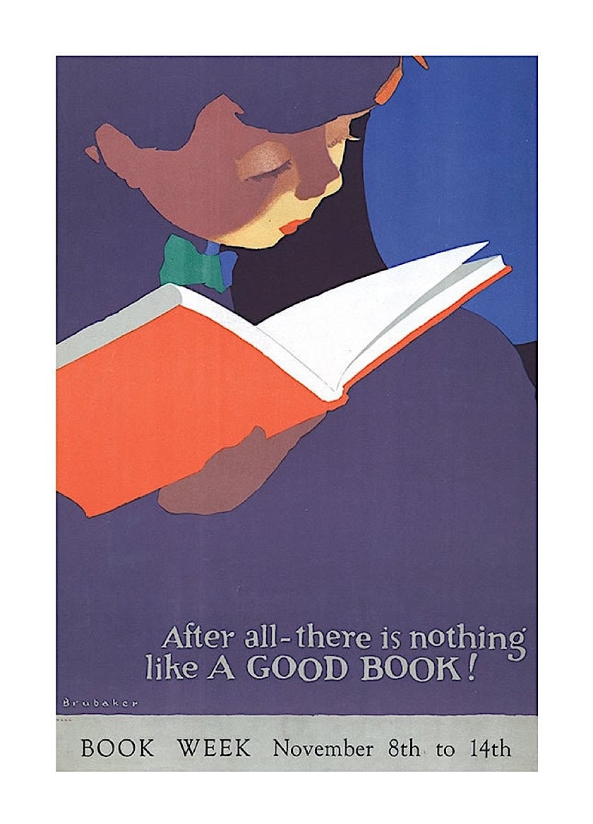 There is nothing like a good book - best read posters