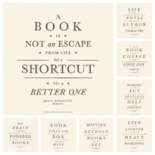 Vintage book quotes by Piotr Kowalczyk Geek Updated