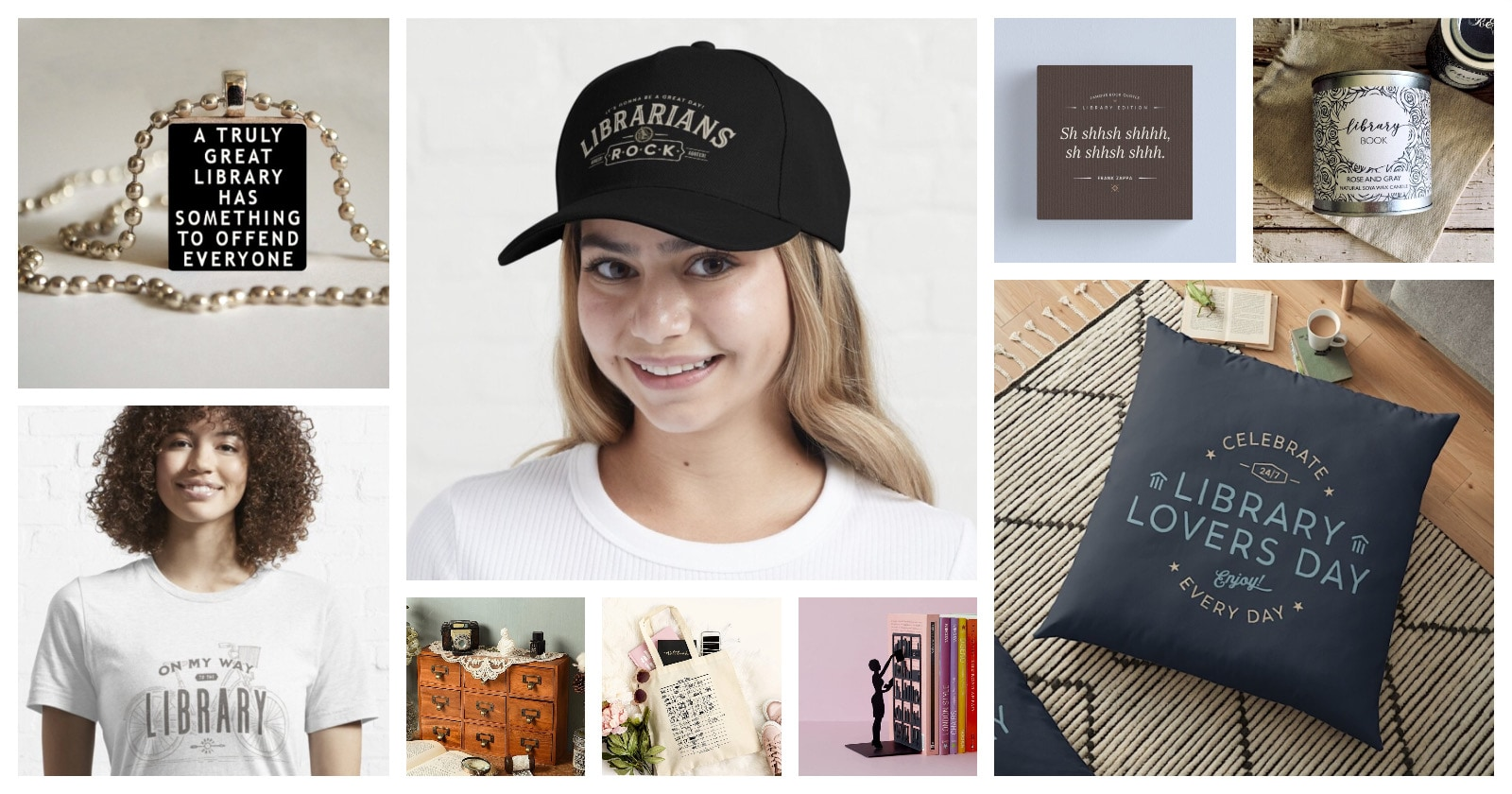 Best gifts merch for librarians library lovers