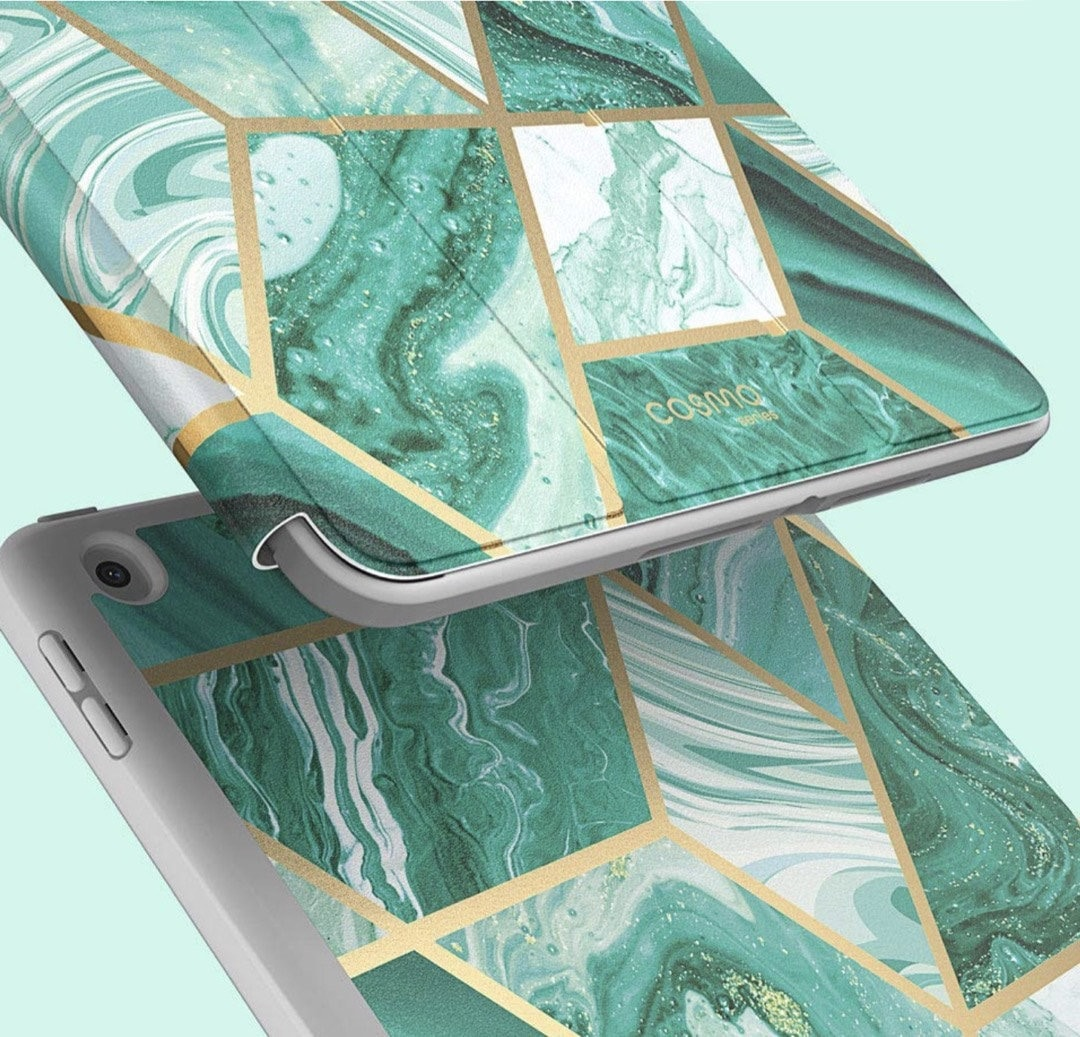 Fashionable and protective rugged Apple iPad 10.2 case