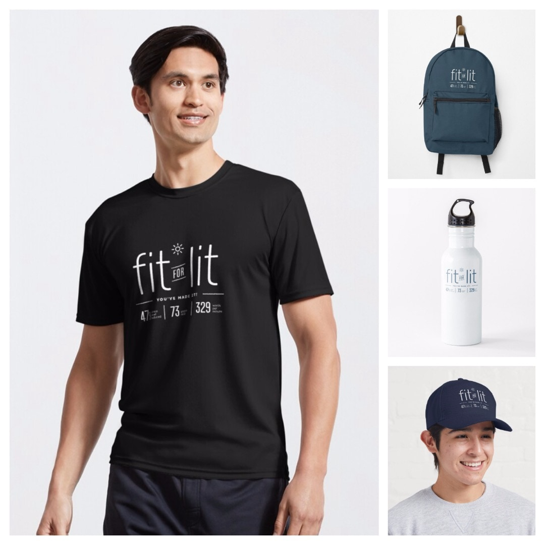 Fit for lit tshirt cap water bottle