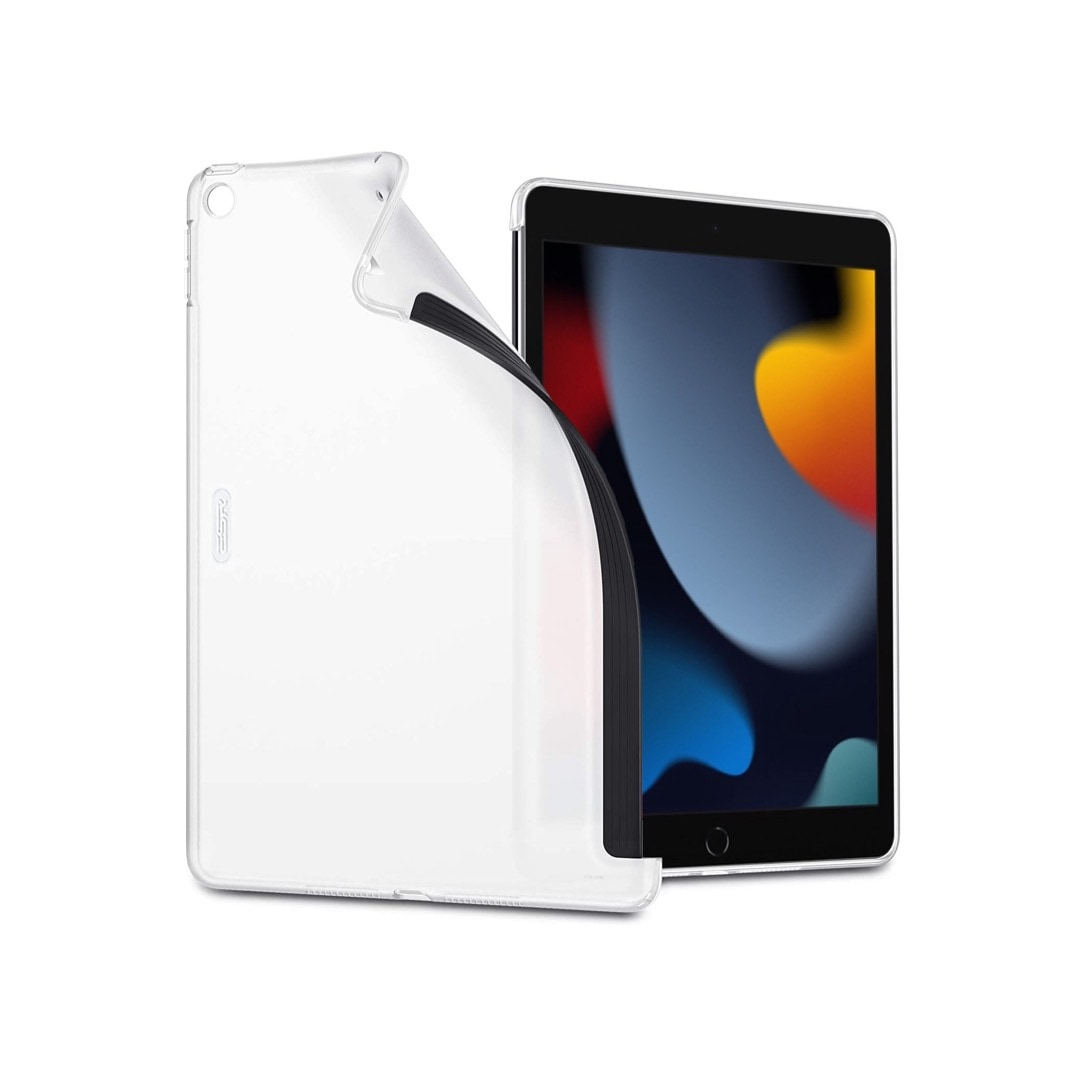 Flexible iPad 10.2 case compatible with Smart Keyboard 2021 and 2020