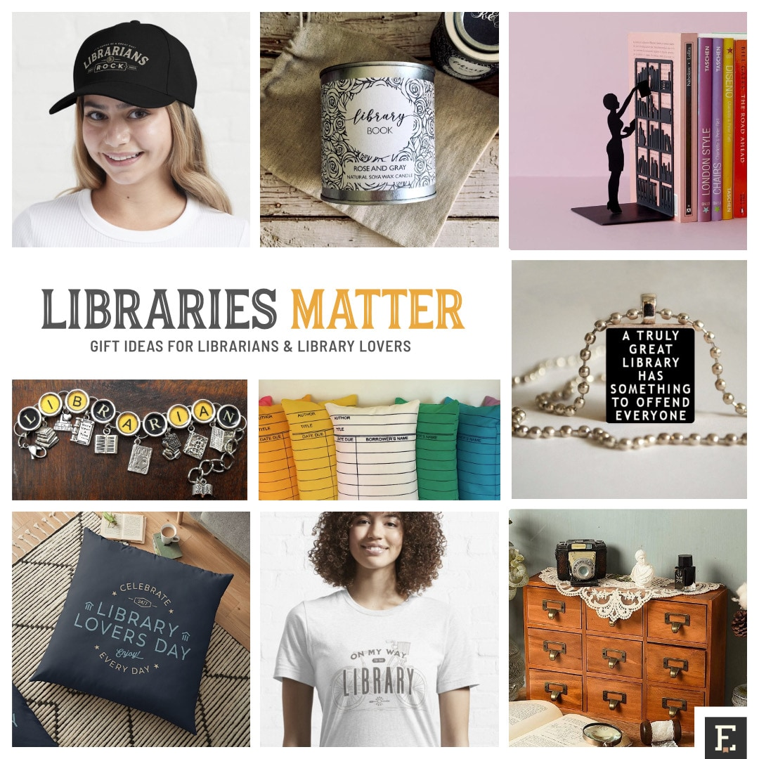 Library gifts and merch ideas