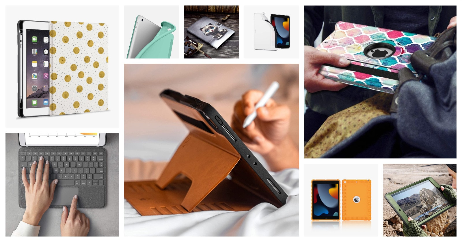 The best iPad 10.12 2021 updated case cover roundup
